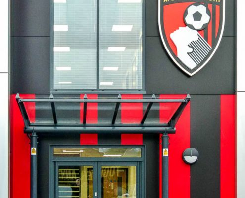 Afc Bournemouth T T Carpentry And Facades 2