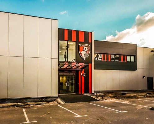 AFC Bournemouth, T&T Carpentry & Facades Cladding Works 2