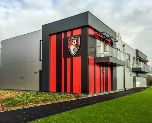AFC Bournemouth, T&T Carpentry & Facades Cladding Works 6