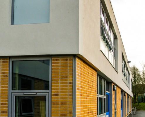 Merton School Gebrik & Envirowall Render, T&T Carpentry & Facades 10