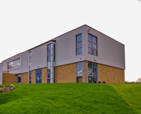 Merton School Gebrik & Envirowall Render, T&T Carpentry & Facades 15