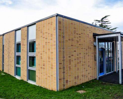 Merton School Gebrik & Envirowall Render, T&T Carpentry & Facades 4