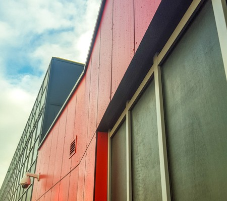 Southampton General Hospital Cladding & Curtain Walling Works, T & T Carpentry & Facades 2