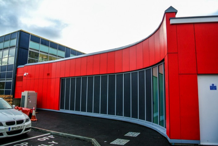 Southampton General Hospital Cladding & Curtain Walling Works, T & T Carpentry & Facades 6