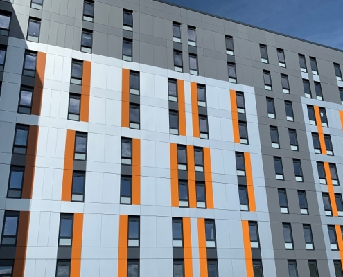 Oldway Centre, Swansea - strip and reclad