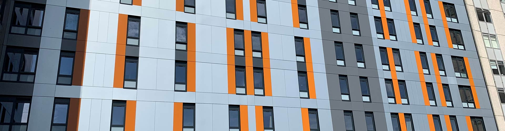 The Oldway Centre, Swansea Remediation Cladding