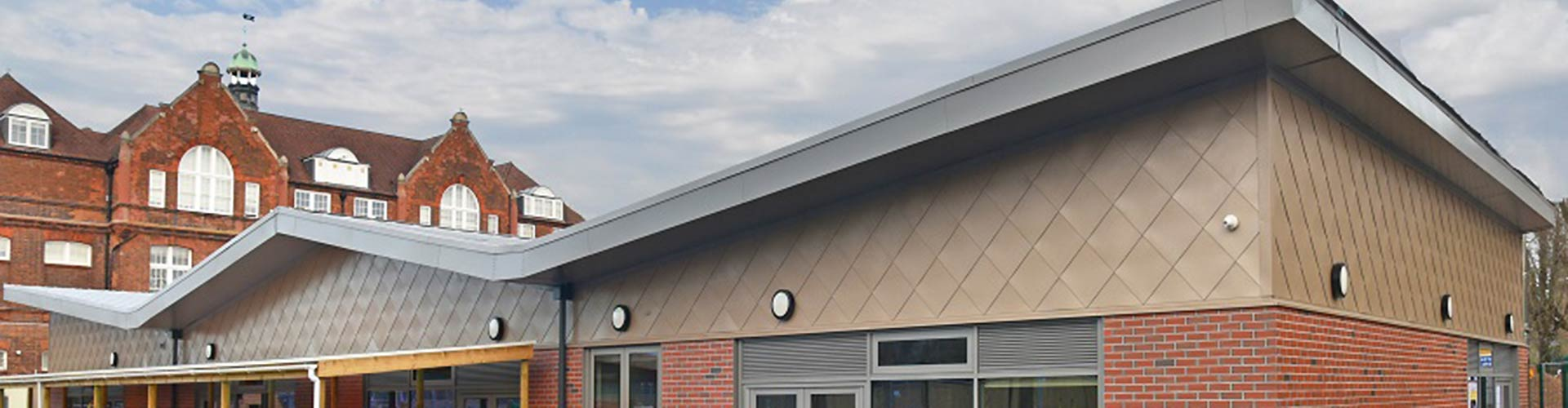 Metal Cladding Stonebridge Banner